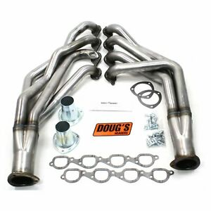 Doug S Headers D359 R Uncoated Raw Headers 1955 1957 Big Block Chevy 572 2 1 8 T