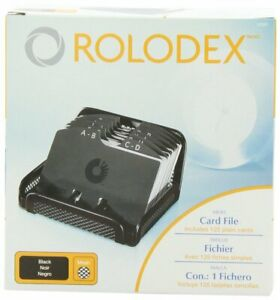 Rolodex Card File Mesh Open Business Card File 125 cards 2 1 4 X 4 Box Of 1 Bl