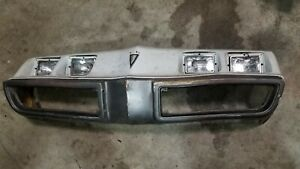 79 80 81 1979 1980 1981 Firebird Trans Am Pace Car Orig Gm Front Bumper Cover