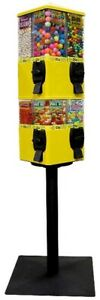U turn Candy Vending Machine 8 Selection Yellow New In Box