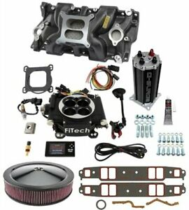 Fitech Fuel Injection 30002k3 Go Efi 600 Hp Kit Small Block Chevy Includes Go E