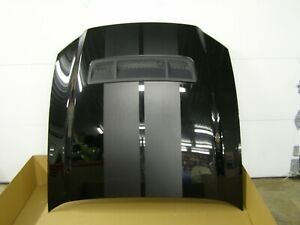Oem Ford 2010 2014 Mustang Shelby Gt500 Hood New Take Off 2011 2012 2013 Blk Nos