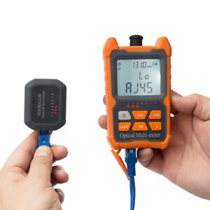 Portable Ftth Fiber Optical Power Meter 70 To 6dbm Optic Cable Tester Us Z7m9