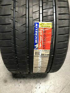 2 New 325 25 20 Michelin Pilot Super Sport Tires