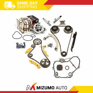Timing Chain Kit Vct Selenoid Actuator Gear Water Pump Fit Gm Ecotec 2 2 2 4
