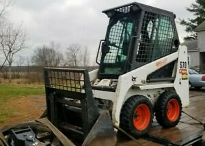 Bobcat S70 Skid Steer Wheel Loader Kubota Diesel Mini Compact Tractor Heated Cab