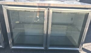 True Bar Cooler With 2 Glass Doors Model Tuc 48g