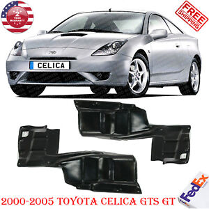 Right Left Under Cover Engine Splash Shield For 2000 2005 Toyota Celica Gts Gt