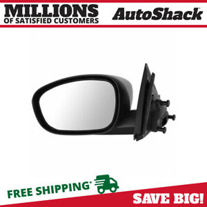 Textured Black Power Driver Left Side Mirror For 2006 2010 Dodge Charger