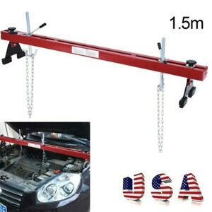 New 1100lbs Capacity Engine Load Leveler Support Bar Transmissionw Dual Hook