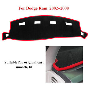 Dash Cover Mat Dashboard Protect For 2002 2008 Dodge Ram 1500 2500 3500 5 7 6 7l