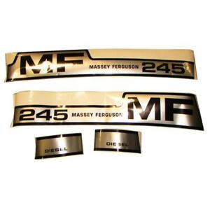Vinyl Hood Decal Kit For Massey Ferguson 245
