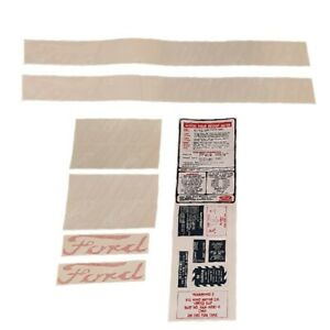 Dkfd6015862 Complete Decal Kit Fits Ford 601 641 651 661 58 62