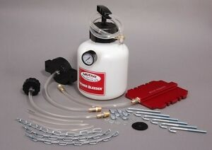 Motive Products Pressure Power Brake Bleeder Universal Pro Kit W Adapter Set