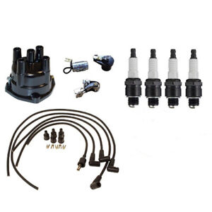 Complete Tune Up Kit Fits Ih Farmall 454 464 544 574 674 W Delco Screw Hel