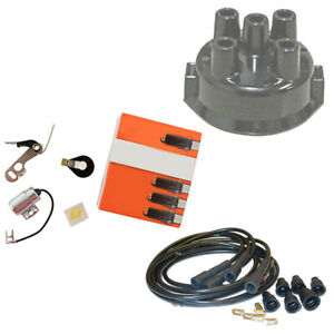 Complete Tune Up Kit Fits Allis Chalmers Tractor Wc Wd Wd45 Wf Delco Clip Hel