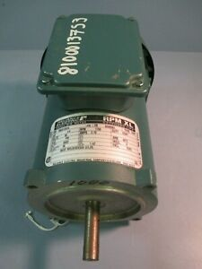 Reliance Electric Small Dc Motor 1 4 Hp 90v 1750rpm Fr Se0056c T56s1000a