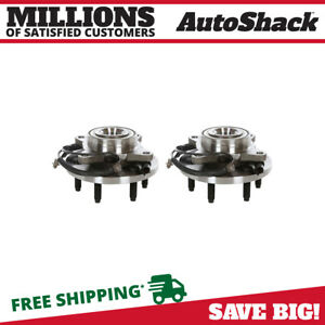 Front Hub Bearing Assembly Pair For 2009 2010 2011 Ford F 150