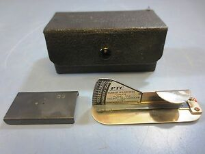 Vintage Ptc Pacific Transducer Corp Rubber Hardess Gauge Model 302 Durometer