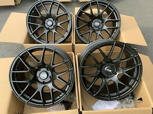 18x8 75 Xxr 530 5x120 33 Black Rims Fits Bmw E90 E92 Awd Used Set