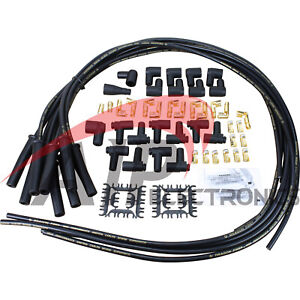 Dragon Fire 8 5mm 180 Universal Spark Plug Wire Set For V8 Hei Points Extra Long