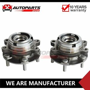 2 5l Front Wheel Bearing Hub Assembly Set For 2007 2008 2012 Fits Nissan Altima