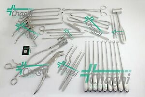 Laminectomy 35 Pcs Set Surgical Orthopedic Veterinary Instruments Chaghi Traders