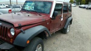 Bare Steering Column Floor Shift Tilt Wheel Fits 07 Wrangler 5341317