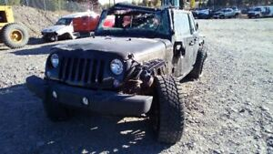Bare Steering Column Floor Shift Tilt Wheel Fits 10 17 Wrangler 5654236
