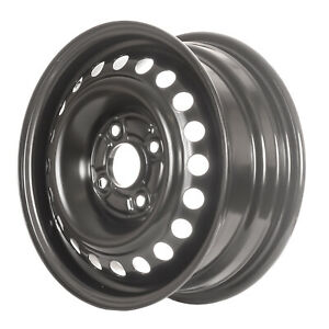 Reconditioned 15x6 Black Steel Wheel For 1998 2002 Honda Accord Sedan 560 63773