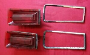 67 Dodge Coronet Tail Light Used Set 1967 Coronet