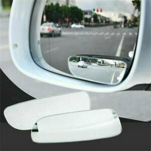 Blind Spot Mirror 2x Auto 360 Wide Angle Convex Rear Side View Car Truck Suv
