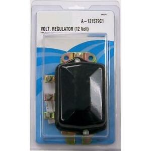 Voltage Regulator 12 Volt 3 Terminal Flat Mount Fits International