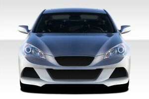 Duraflex J spec Front Bumper Body Kit For 10 12 Hyundai Genesis Coupe