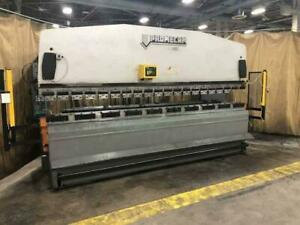 110 Ton X 13 4000mm Promecam Model Rg 104 Hydraulic Upacting Press Brake