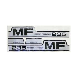 S 42848 Decal Kit fits Massey Ferguson 235 Diesel Hood
