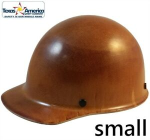 Msa Skullgard Small Shell Cap Style Hard Hat With Ratchet Suspension Natural Tan