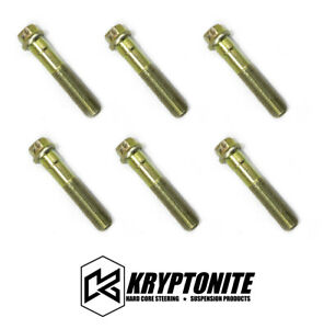Kryptonite 6 Wheel Bearing Spindle Bolts For 1999 2018 Chevy Gmc 1500 6 Lug