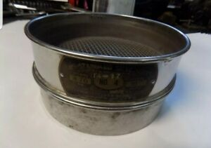 Us Standard Sieve Series Dual Mfg Co Sieve 4 4 76 Opening With Base