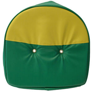 Tractor Universal 21 Pan Seat Cover Cushion Green And Yellow
