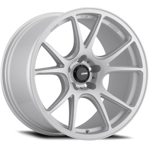 19x8 5 Konig Freeform 5x114 3 45 Matte Silver Rims Set Of 4