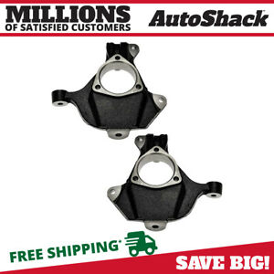 Front Bare Steering Knuckle Pair For 1999 2005 2006 Gmc Sierra Silverado 1500