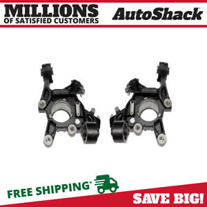 Rear Bare Steering Knuckle Pair For 2006 2007 2008 2009 2010 Ford Explorer