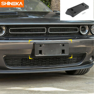 Auto Front License Plate Mounting Bracket Holder For Dodge Challenger 2015 2019