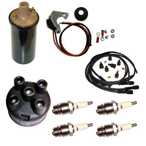 12v Electronic Distributor Ignition Conversion Kit For Fits Ih Farmall Tractor