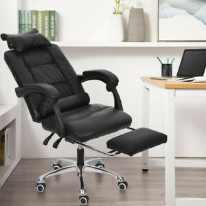 High Back Office Chair Recliner Leather Computer Desk Task Chair Racing Styleb1