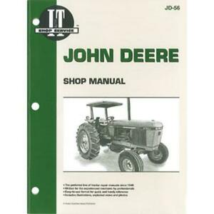 It Manual Fits John Deere 2840 2940 2950 Tractors Fits Jd 56 Pm