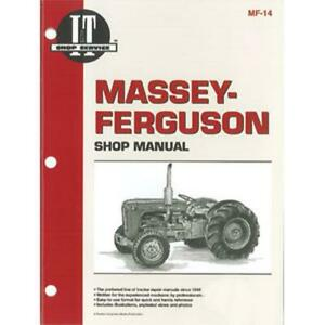 I t Service Shop Repair Manual For Massey Ferguson Tractor To35 40 35 50 Mf14