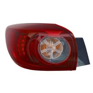 Tail Light Lamp Left Outer Led For 2014 18 Mazda 3 Hatchback Japan Built