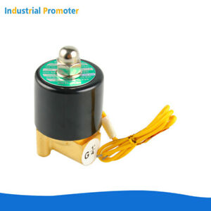 2w 025 08 1 4 Dc 12v Electric Solenoid Valve Normally Closed Gas Water Air N c
